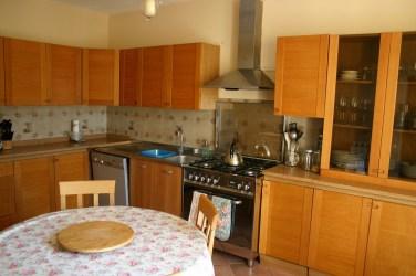 Kitchen in apartment in Umbria