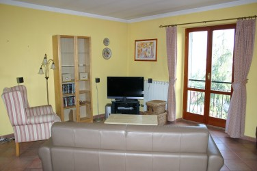 Living area in Apartment Quercia