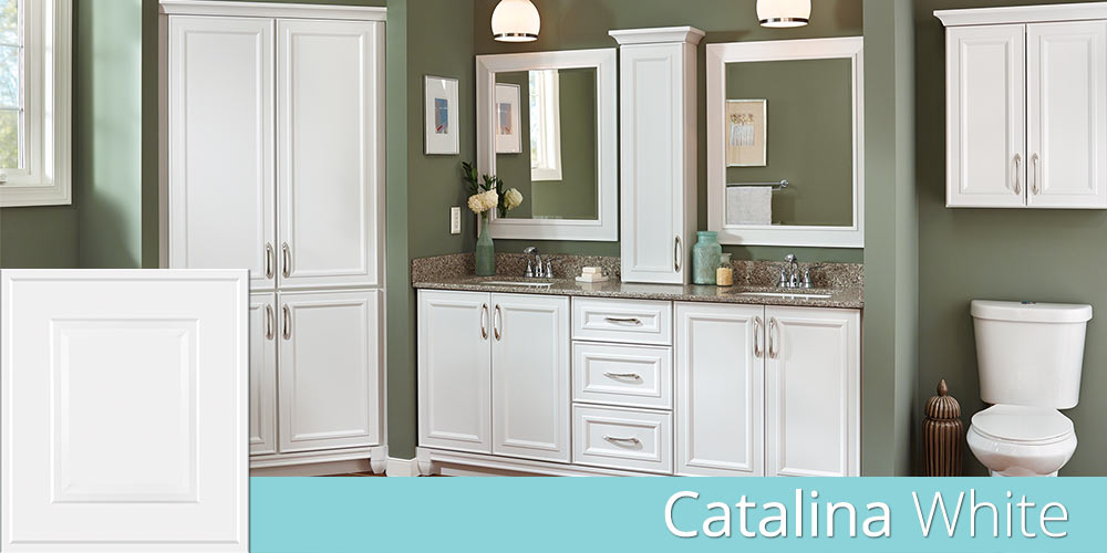 Catalina Door Style  Products  Villa Bath Cabinets by RSI