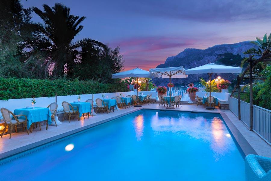 Hotel Villa Brunella Capri  Hotel con piscina e vista mare