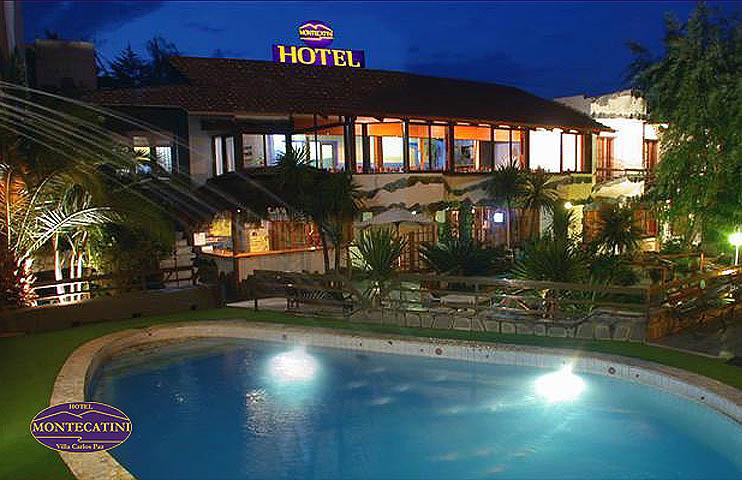 HOTEL MONTECATINI EN VILLA CARLOS PAZ Hoteles en Villa
