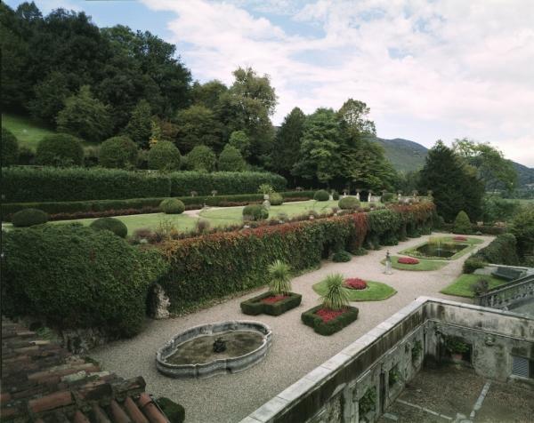 Giardino terrazzato a nord (Foto Vincent Berg)