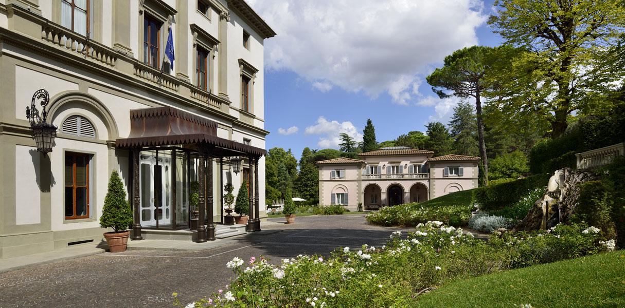 Giardino  Piscina  Villa Cora  Hotel 5 stelle lusso Firenze