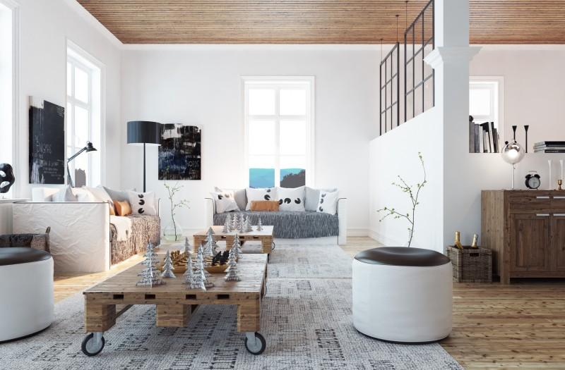 mieszkanie wstylu skandynawskim