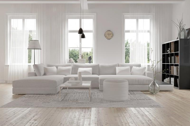 Nowoczesny Biały Salon Inspiracje I Aranżacje Blog Villadecor