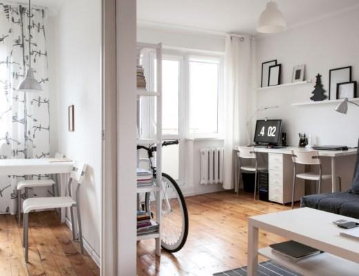pomysły na wystrój mieszkania w stylu skandynawskim