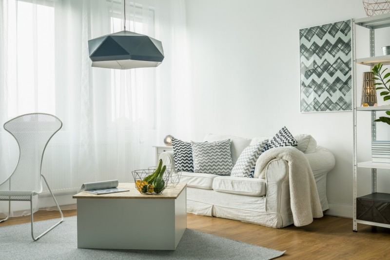 minimalizm wnętrza skandynawskie