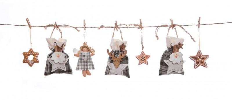 zawieszki dekoracyjne Boże Narodzenie