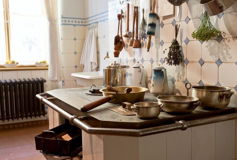 kuchnia wstylu retro