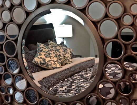 sypialnia art deco