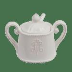 ceramiczna cukiernica shabby chic