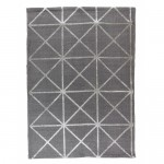 nowoczesny dywan dosalonu szary