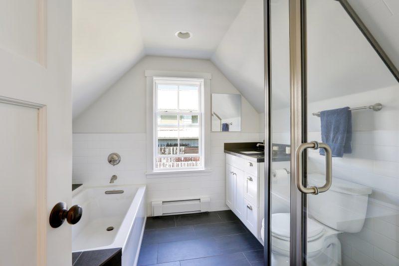 Elegancka I Funkcjonalna łazienka Na Poddaszu Blog Villadecor