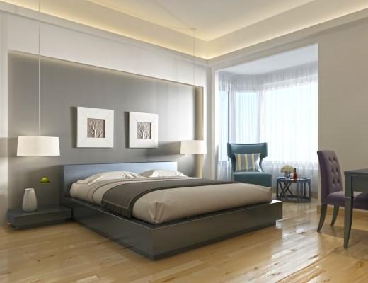 nowoczesne kinkiety do sypialni