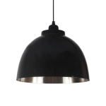 czarna lampa wstylu skandynawskim
