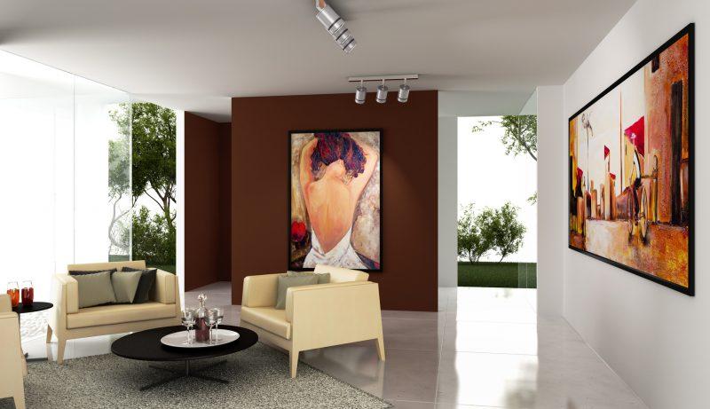 nowoczesne obrazy w ramie