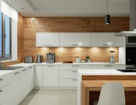 jak zaplanować oświetlenie w kuchni
