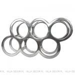 elegancki aluminiowy stojak nawino
