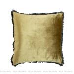 modna luksusowa aksamitna poduszka