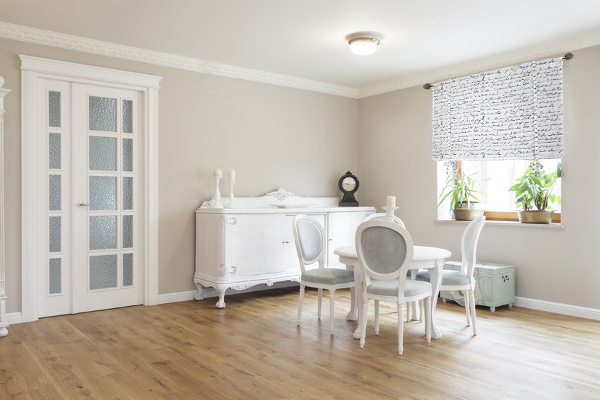 Aranacja okna w kuchni salonie i sypialni  Villa Decor