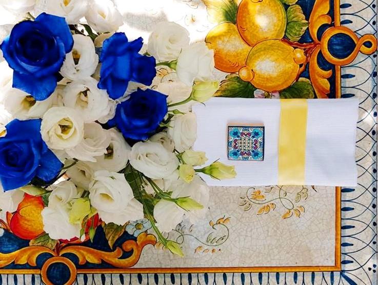 Matrimonio stile Amalfi ispirato alla Costiera  Villa del Vecchio Pozzo