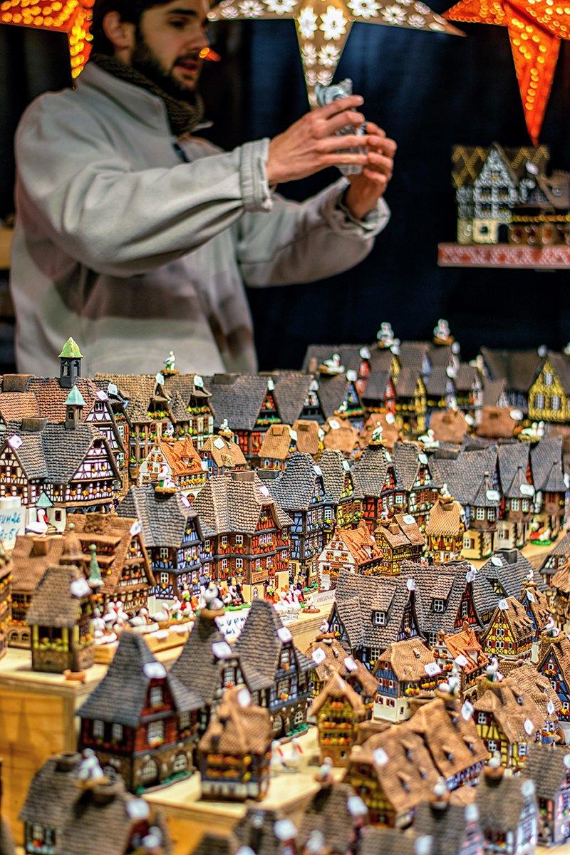 Petites maisons Alsaciennes en décoration