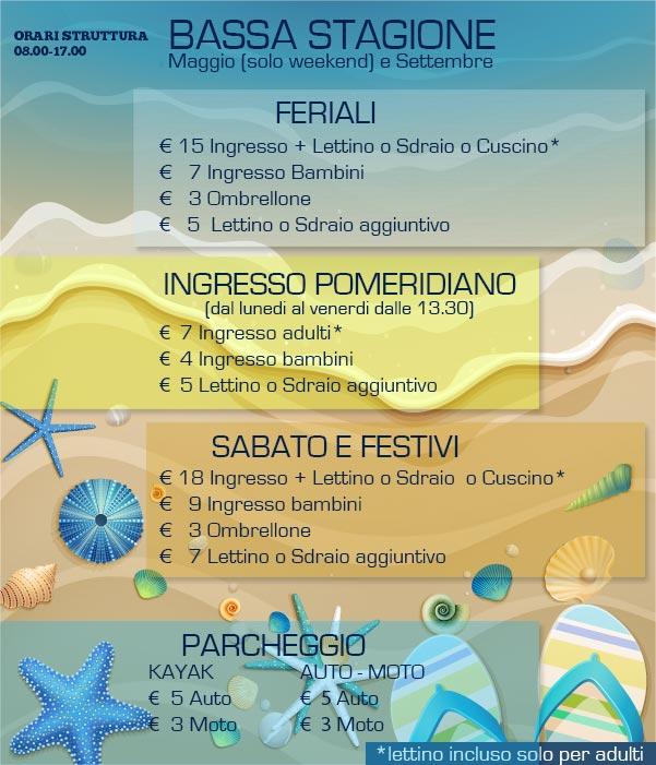 Baia delle Rocce Verdi  Stabilimento Balneare Napoli