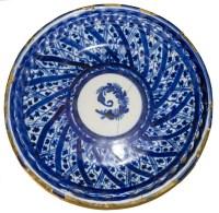 Antique Blue and White Plates  Village Antiques