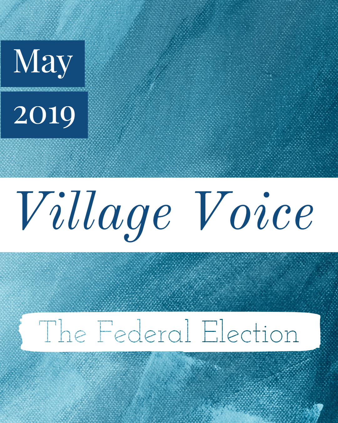 Village Voice: May 2019