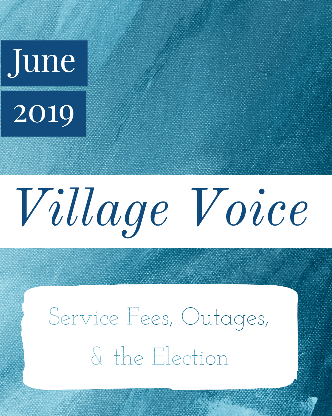 Village Voice: June 2019