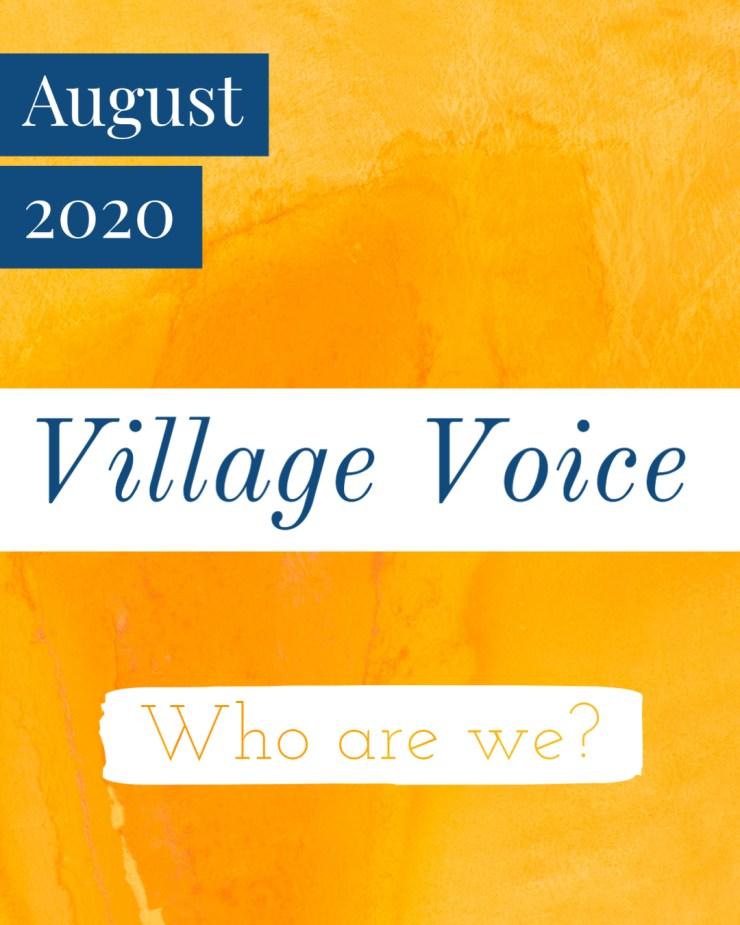 Village Voice: August 2020