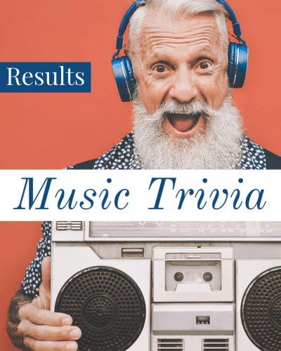 Music Trivia: Results