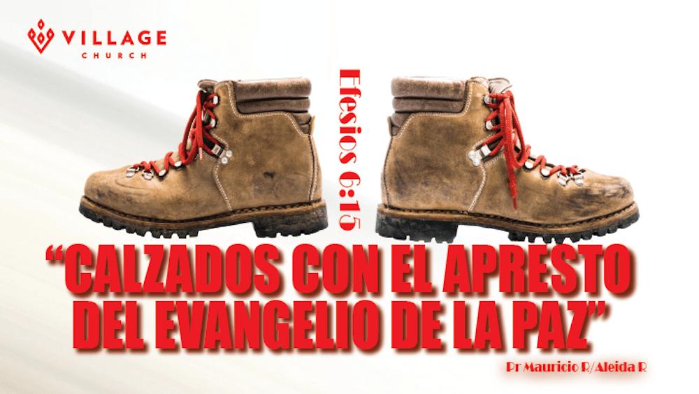 Calzados Con El Apresto Del Evangelio De La Paz Image