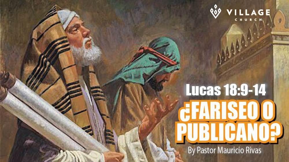 ¿Fariseo O Publicano? Image