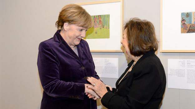 'Art from the Holocaust' exhibition at the German Historical Museum, Berlin, Germany - 25 Jan 2016