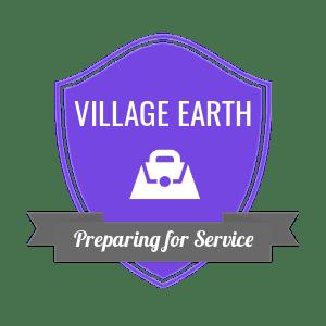 Preparing for Service Badge