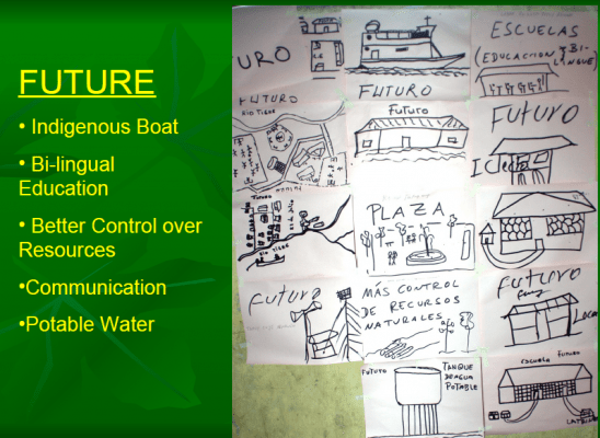 Aspects of their future vision that they would like to share.