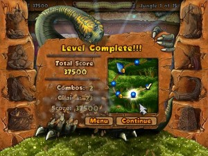 Stoneloops Level Complete