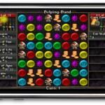 Puzzle Quest Battle Screen