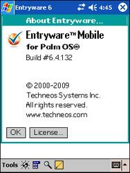Entryware running on StyleTap