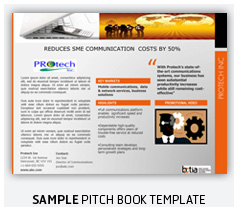 Pitch Book Sample