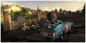 Drift Around Hairpin Turns in Modnation Racers