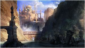 Prince of Persia Forgotten Sands Palace Exterior