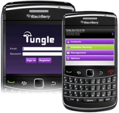 Tungle for Blackberry