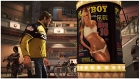 Playboy in Dead Rising 2