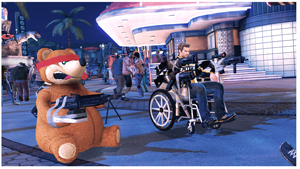 Dead Rising 2 wheelchair