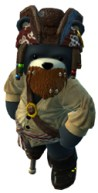 Naughty Bear Pirate