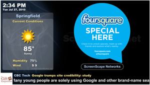 screenscape and foursquare