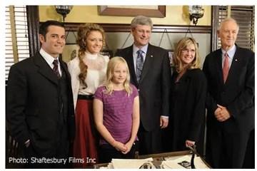 PM Harper Visits Murdoch Mysteries