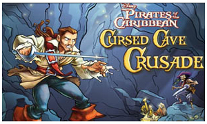 Pirates of the Caribbean Cursed Cave Crusade